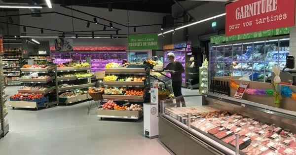SPAR Бельгія представляє нову концепцію супермаркету в супермаркеті в м. Ресса (Ressaix)