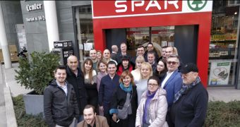 Команда SPAR Україна відвідала Угорщину в рамках навчального туру