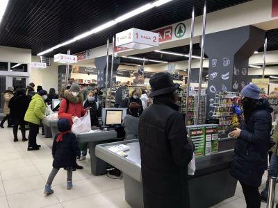 У листопаді відкрились два супермаркети EUROSPAR